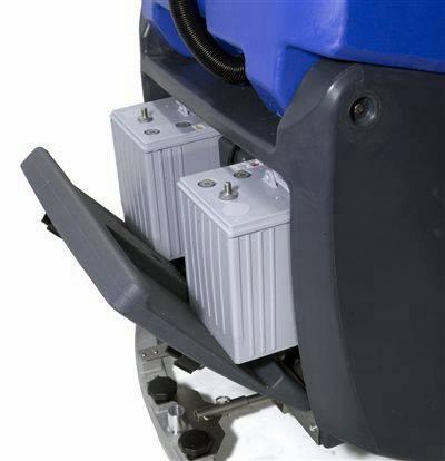 รถขัดพื้นอัตโนมัติแบบนั่งขับ ช่องเก็บแบตเตอร์รี่ Numatic TTV678