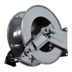 """โรลม้วนเก็บสายฉีดน้ำ RAMEX AV825 โรลม้วนเก็บสายอัตโนมัติ Hose Reels Water Standard Pressure 0 - 200 Bar / 0 - 2900 PSI ผลิตจากอิตาลี ใชักับสายขนาด 1/4"""" 5/16"""" 3/8"""" 1/2"""" สำหรับโรงงานอุตสาหกรรมอาหารสัตว์ ร้านอาหาร ปศุสัตว์ อู่ซ่อมรถยนต์ เกษตรกรรม ก่อสร้าง เรือเดินสมุทร เหมืองแร่ อุตสาหกรรมซ่อมอากาศยาน"""