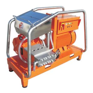 เครื่องฉีดน้ำแรงดันสูง DEN-JET CE125 Series Pressure : 2200-2750 bar, 380V