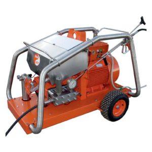 DEN-JET CE40-550 Pressure : 550 bar, 380V, Flowrate: 30 l/min, 40Hp, 30 kW