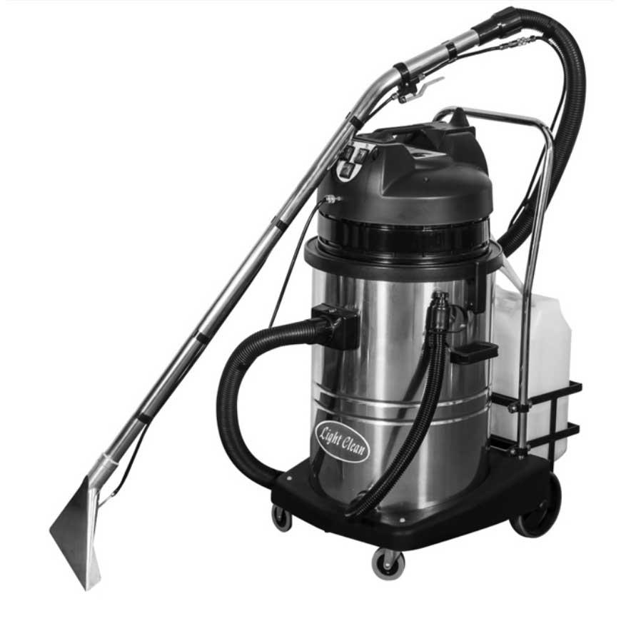 เครื่องทำความสะอาดพรม เบาะ โซฟา ผ้าม่าน WAP LC602SC CARPET CLEANER 60 L, 2110 W, 220 V มอเตอร์ดูด 1000 W 2 ตัว 2 สปีด เหมาะสำหรับผู้รับเหมาทำความสะอาด