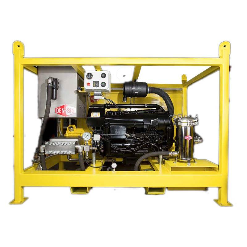 เครื่องฉีดน้ำแรงดันสูง Densin UHP High pressure washer: Pressure 2070 Bar - 2500 Bar, Diesel Engine