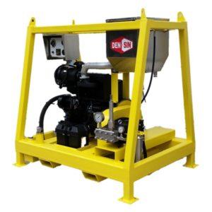 เครื่องฉีดน้ำแรงดันสูง Densin C500/30D High pressure washer: Pressure 500 Bar, Flowrate 30 L/M, Diesel Engine Power