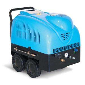 เครื่องฉีดน้ำร้อน Politecno Omega WS 200.21 T-STT, Pressure : 200 bar, Flowrate : 1,260 L/H, 1450 RPM, 380V,140 °C ใช้งานระดับอาชีพ
