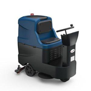 รถขัดพื้นอัตโนมัติแบบนั่งขับ WAP A9R AUTOSCRUBBER ความจุถังน้ำดี/น้ำเสีย 100 ลิตร/120 ลิตร ราคาประหยัด บำรุงรักษาง่าย ระบบไม่ซับซ้อน