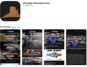 แอพมือถือเวอร์ชั่นใหม่จาก StoneAge ในแอพมีคู่มือการใช้งาน คำแนะนำในการใช้งาน คำแนะนำในการซ่อมบำรุง สามารถคำนวนหารุ่นและขนาดของหัวฉีดของ StoneAge ในรุ่นต่างๆ ให้ถูกต้อง