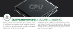 MICROPROCESSOR CONTROL เครื่องพ่นสเปรย์ COMET SB7.5