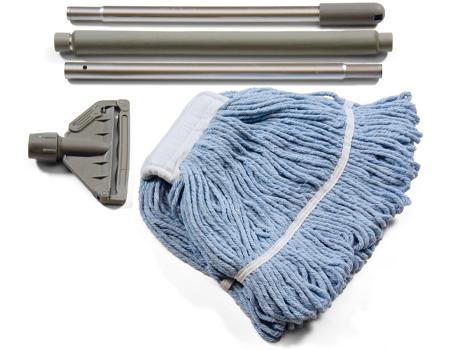 ชุดไม้ม็อบถูพื้น+รีฟิลผ้าม็อบ NUMATIC MS1