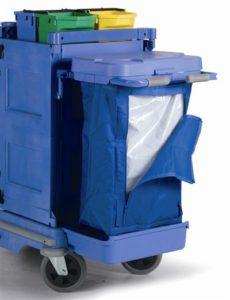 ชุดรถเข็นมีประตูสีน้ำเงิน Numatic VCN1904